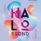 Halo Sound Concert Flyer - GraphicRiver Item for Sale