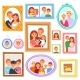 Frame Vector Framing Picture or Family Photo