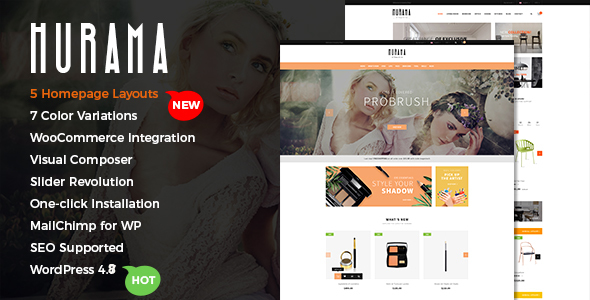 Hurama - Multipurpose WooCommerce WordPress Theme - WooCommerce eCommerce