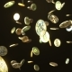 Falling Bitcoin Coins - VideoHive Item for Sale