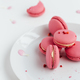 Pink Macarons Scattered on Table - PhotoDune Item for Sale
