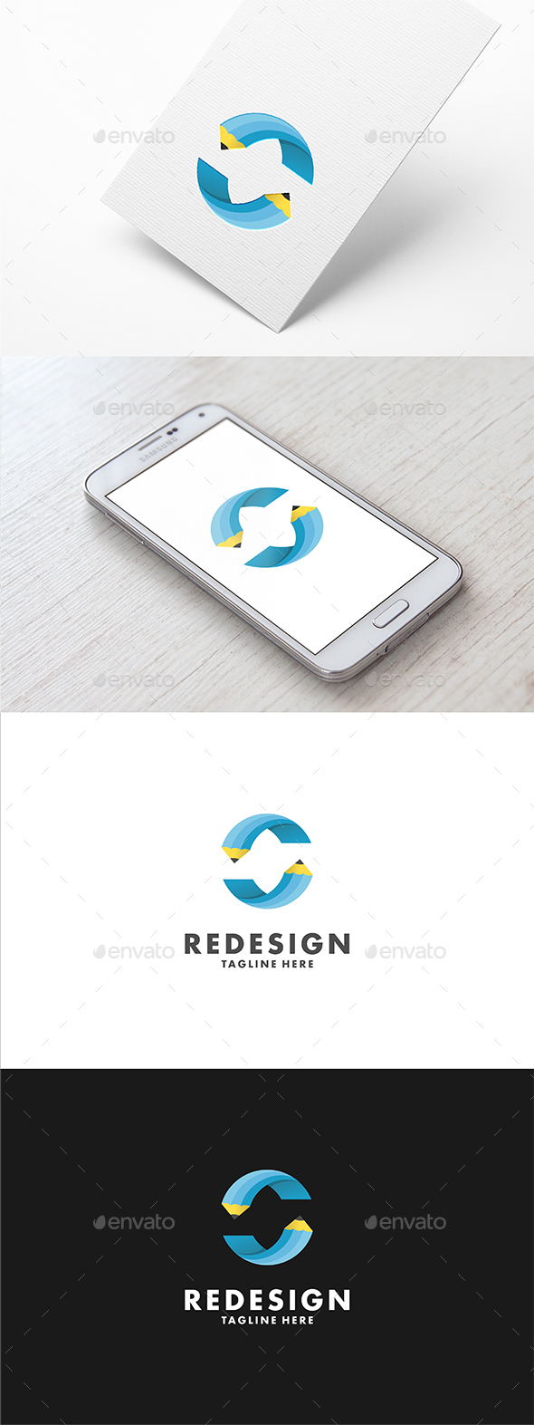 Redesign Logo Template - Objects Logo Templates