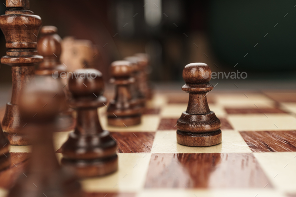 Chess Leadership Concept  - Stock Photo - Images