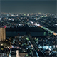 Tokyo, Japan, Timelapse  - Shinjuku s Financial District of Tokyo and the Sky Tree Tower from Day