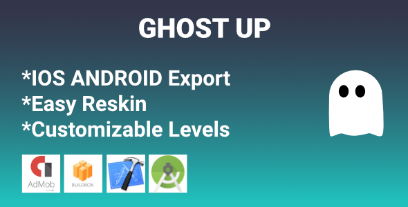 Ghost up - new challenging game            Nulled