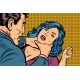 Man Strangles a Woman