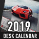 2019 Desk Calendar template - GraphicRiver Item for Sale