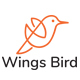 """""""Wings Bird LOGO"""" - GraphicRiver Item for Sale"""