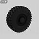Off-road wheel Tire