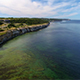 Aerial View Over Coastline on the Island of Gotland in the Baltic Sea - VideoHive Item for Sale