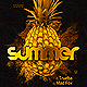 Golden Summer Party Flyer