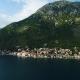 Aerial Beautiful View at Perast Town. Montenegro - VideoHive Item for Sale