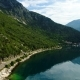Aerial View of the Mountain Roads Near Kotor Bay and Villages Along the Coast - VideoHive Item for Sale