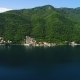 Aerial View of the Kotor Bay and Villages Along the Coast - VideoHive Item for Sale