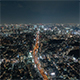 Tokyo, Japan, Timelapse  - Tokyo's skyline from day to night from the Mori Museum Wide Angle - VideoHive Item for Sale
