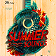 Summer Sounds Party Flyer