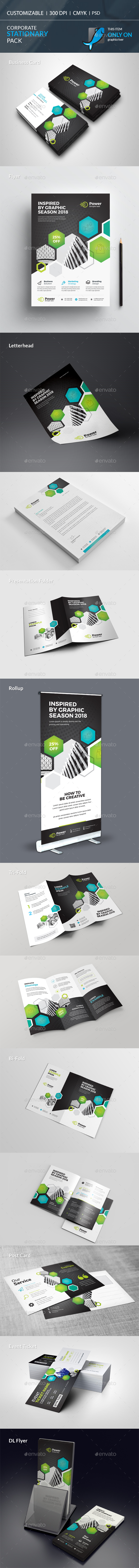 Corporate Stationary Pack - Stationery Print Templates