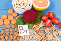 Nutritious different ingredients containing vitamin B7, natural minerals and fiber - PhotoDune Item for Sale