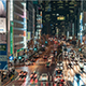 Tokyo Japan Timelapse Shinjuku's Streets at Night - VideoHive Item for Sale