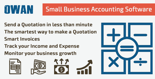 OWAN - Small Business Accounting Software            Nulled
