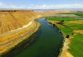 The Snake River Meanders across Idaho at Glenns Ferry - PhotoDune Item for Sale