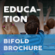 Education Bifold / Halffold Brochure 11 - GraphicRiver Item for Sale
