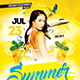 Summer Raving Flyer Template - GraphicRiver Item for Sale