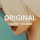 Original Minimal & Model  Google Slide Template - GraphicRiver Item for Sale