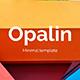 Opalin Creative and Minimal Keynote Template