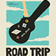 Road Trip Gigs Event Flyer - GraphicRiver Item for Sale