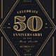 Vintage Anniversary Invitation - GraphicRiver Item for Sale