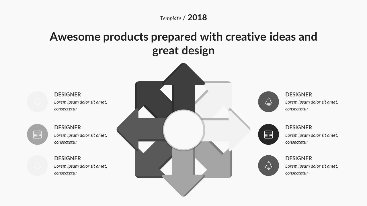 Infinity Creative Keynote Template