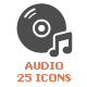 Voice & Audio Filled Icon - GraphicRiver Item for Sale