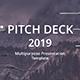 Pitch Deck 2019 Google Slide Template