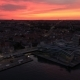 Sunset Over Aarhus - VideoHive Item for Sale