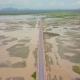 Aerial View of Chaloem Phrakiat - the Longest Bridge in Thailand - VideoHive Item for Sale