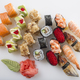 Delicious sushi rolls set. - PhotoDune Item for Sale