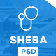 Sheba - Health & Doctor Medical PSD Template - ThemeForest Item for Sale