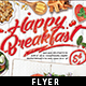 Breakfast Restaurant Flyer Template - GraphicRiver Item for Sale