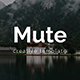 Mute Minimal Keynote Template - GraphicRiver Item for Sale