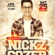 Guest DJ Flyer Template - GraphicRiver Item for Sale
