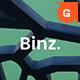 Binz. Google Slides Template - GraphicRiver Item for Sale
