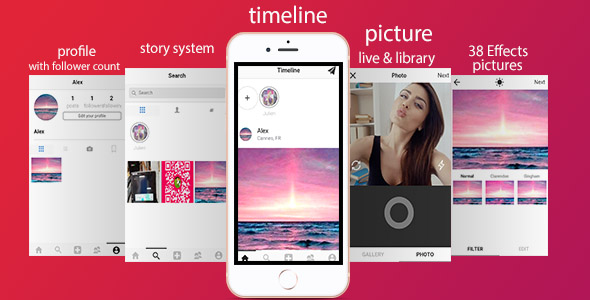 Download] Zapinsta – The most advanced instagram clone with
