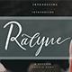 Ralyne Script