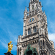 The Marian Column, Clock chimes and the tower of the New Town Hall - PhotoDune Item for Sale