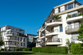 New apartment houses with blue skies - PhotoDune Item for Sale