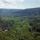 Aerial of Vineyards in Wachau, Austria - VideoHive Item for Sale