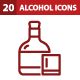 20 Alcohol Icons