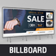Product Promotion Billboard Signage Design v1 - GraphicRiver Item for Sale