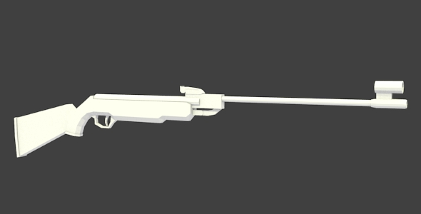 Air Rifle - 3DOcean Item for Sale